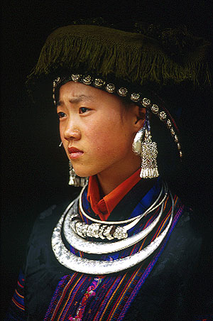 Black Miao Girl