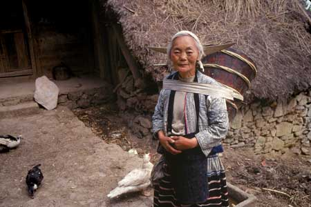 Long Horn Miao Woman
