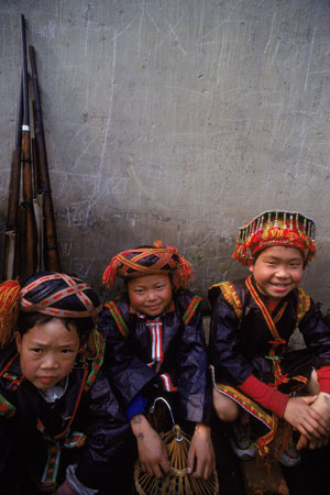 Young Hunters of Miao Village
